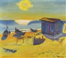 Max Pechstein, DIE SONNE KAM WIEDER (THE SUN CAME BACK)