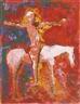 Marino Marini, CAVALLO BIANCO E CAVALIERE (WHITE HORSE AND RIDER)