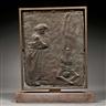 Giacomo Manzù, 2 Works : Untitled Bronze Bas-relief ; La Guerra, Variante IV