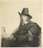 Rembrandt van Rijn, Jan Asselyn, Painter (B., Holl. 277; H. 226)
