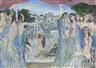 Paul Delvaux, Première étude pour 'Le Choeur' de
