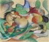 Franz Marc, Springendes Pferd