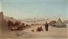 Charles-Théodore Frère, View of Jerusalem from the North, facing Damascus Gate