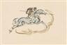 Max Slevogt, 3 Works: Szenen aus römischen Spielen