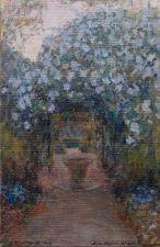 Alexandre roubtzoff fontaine dans le jardin a for Alexandre jardin le zubial