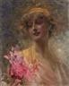 19th Century Paintings - Im Kinsky