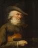 Hans Canon, Old violinist