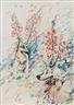 Christian Ludwig Attersee, Zwei Gladiolenrolfe