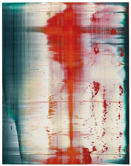 gerhard richter fuji 1996 oil on alu dibond. Black Bedroom Furniture Sets. Home Design Ideas