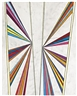 Mark Grotjahn, UNTITLED (BUTTERFLY FIVE COLOR RAY)