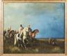 Continental School, 19th Century, Arabs on horseback