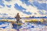 John Whorf, Setting Out Decoys