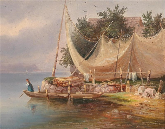 Steinfeld wilhelm art auction results for Lake wilhelm fishing