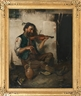 Continental School, 19th Century, The violin player