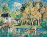 Friedrich Ahlers-Hestermann, Rowing Boat