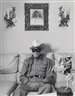 Mary Ellen Mark, CLAYTON MOORE - THE FORMER LONE RANGER AT HIS HOME - LOS ANGELES, CALIFORNIA