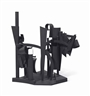 Louise Nevelson, Maquette for Dawn Shadows