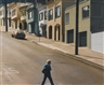 Robert Bechtle, POTRERO STROLLER-CROSSING ARKANSAS STREET