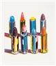 Wayne Thiebaud, Eight Lipsticks