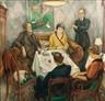 Friedrich Ahlers-Hestermann, Evening Talk - Abendgespräch