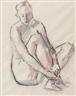Heinrich Stegemann, Female Nude
