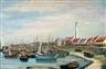 Paul Delvaux, Small fishing harbour - Petit port de pêche