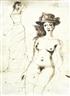 Paul Delvaux, Woman with a Hat - Femme au chapeau