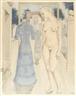 Paul Delvaux, Robe de dimanche