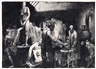 George Bellows, The Life Class, First Stone