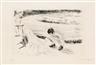 Max Liebermann, Spielendes Kind und Wärterin