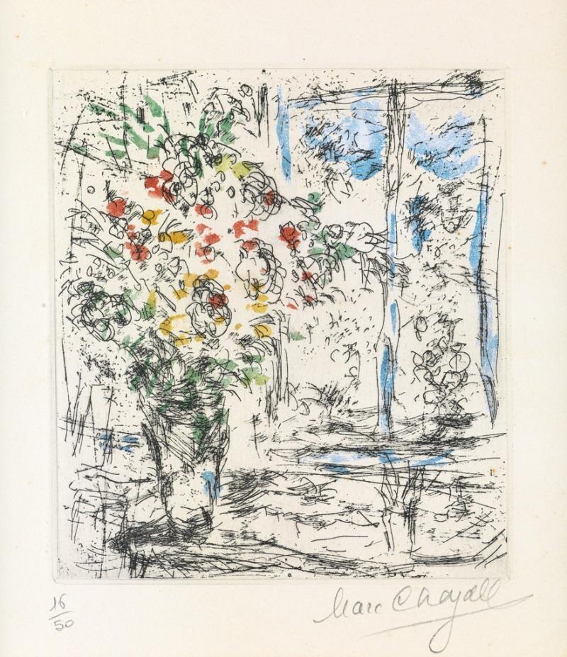 Marc chagall la fen tre de l 39 atelier for Fenetre atelier