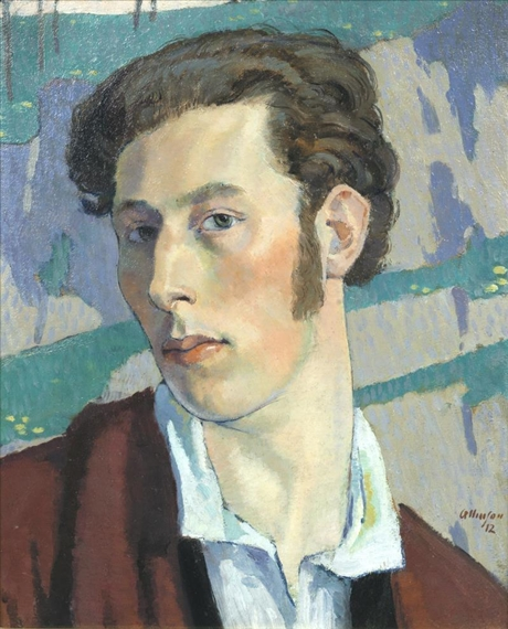 Adrian Allinson - self-portrait