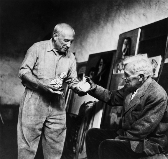 miller lee pablo picasso and georges braque 1954 mutualart
