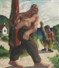Peter Howson, FIGURE BY THE SEA
