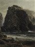 William Trost Richards, Coast of Cornwall-View of Tintagel Castle