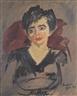 David Bomberg, Portrait of a Lady