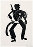 Hap Grieshaber, 2 Works: Guevara oder Der Sonnenstaat