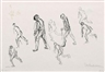 Max Liebermann, Gehende Männer