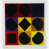 Victor Vasarely, TOPAZ (FROM ALBUM LAPIDAIRE)