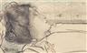 Jan Toorop, De droom der zeven heuvelen (Le rêve des sept collines)