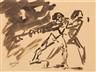 Jan Toorop, Figurative Sketch