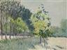 Gustave Caillebotte, Allée bordée d'arbres
