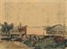Paul Delvaux, Paysage à Wanze
