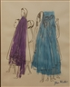 Ben Shahn, depicting women shopping