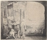 Rembrandt van Rijn, Peter and John at the Gate of the Temple