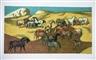 Millard Sheets, Horses