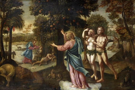 adam and eve in the garden It was a presence that adam and eve acknowledged and thought they could hide from so, god's garden walk included both sound and some sort of presence among the trees even given these two statements, interpretations differ greatly.