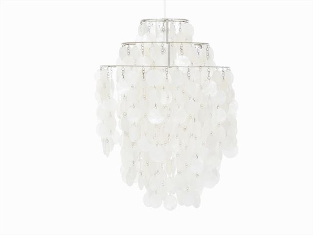 verner panton ceiling lampe fun luber 1964. Black Bedroom Furniture Sets. Home Design Ideas