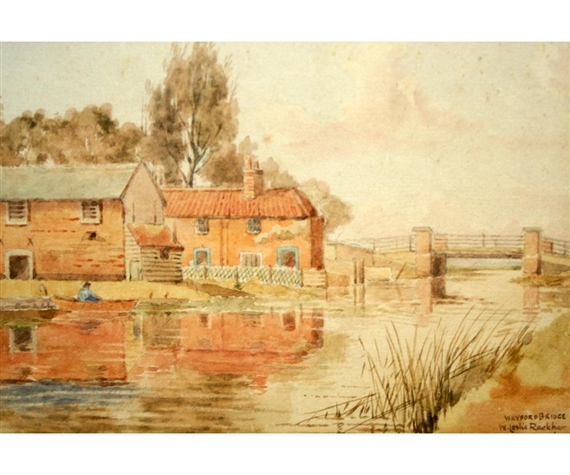 Kenneth luck cooper s mill blundeston sketched for Coopers mill