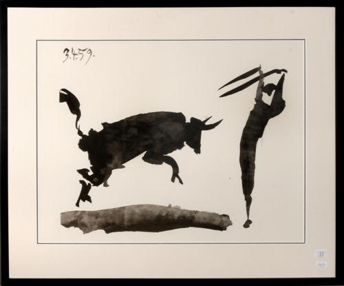 Znalezione obrazy dla zapytania toro pablo picasso